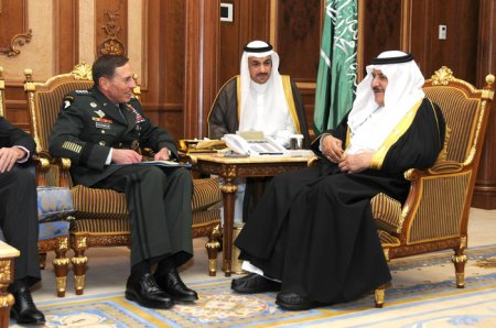 Warm relations between U.S. military and Saudi Arabia