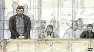 Ansar al Fath terror cell members on trial